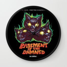 Basement Of The Damned Wall Clock