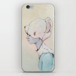 Portrait E iPhone Skin