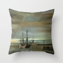 Dream Traveller Throw Pillow