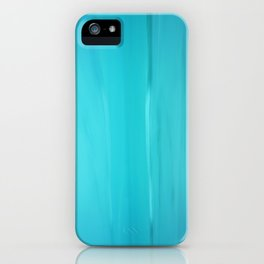 Abstract Turquoise iPhone Case