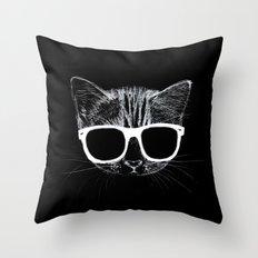 nightcat Throw Pillow