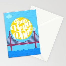 THAT'S HELLA DOPE Stationery Cards