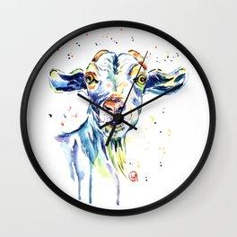 The Happy Goat Wall Clock