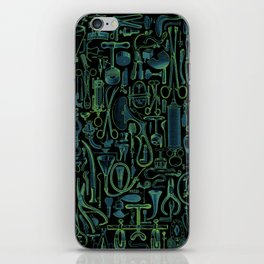 Medical Condition VINTAGE FRANKENSTEIN / Take two of these and call me in the morning iPhone Skin