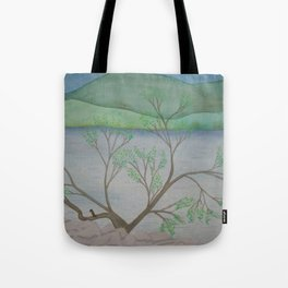 Banks of the Canal Tote Bag