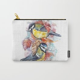 winter titmouse Carry-All Pouch