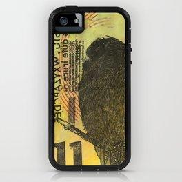 Bird illustration iPhone Case