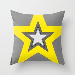 Power Up-Yellow Edition Throw Pillow