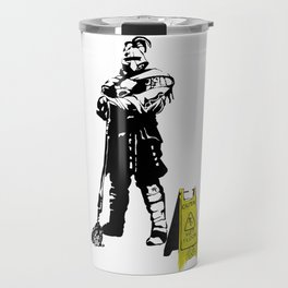 Every day heroes - Mop Champion Travel Mug