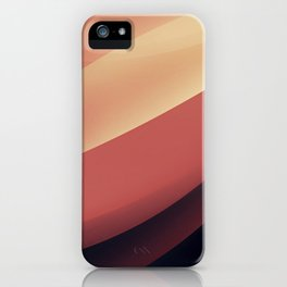 Vintage dunes iPhone Case