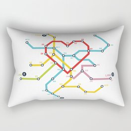 Home Where The Heart Is Rectangular Pillow
