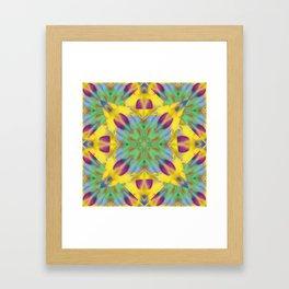 Kaleidoscope Bubbles Framed Art Print