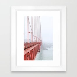 Golden Gate Bridge in San Francisco Framed Art Print