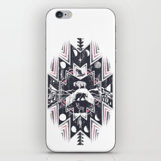 Phases (Light) iPhone & iPod Skin