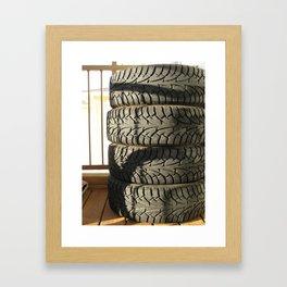 Stacked Framed Art Print
