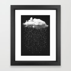 Let It Fall III Framed Art Print