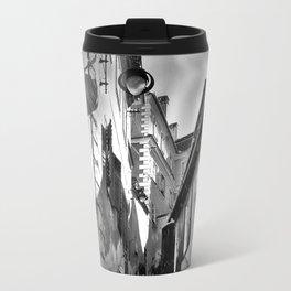 Sibiu B&W Travel Mug