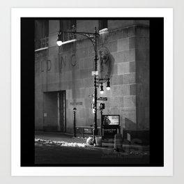 Federal Building Corner Art Print