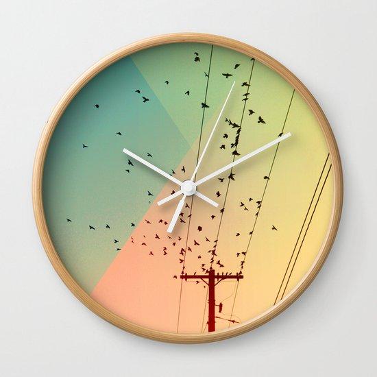 Cool World #1 Wall Clock