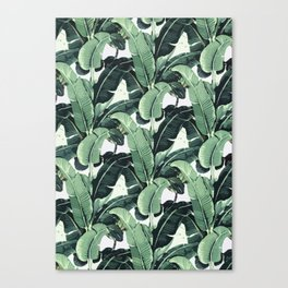 Tropical Banana Leaf Canvas Print