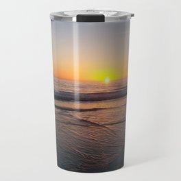 Sunset over the ocean Travel Mug