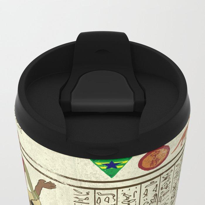 Hero-glyphics: Browncoats Metal Travel Mug