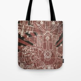 CB450 Japan Tote Bag