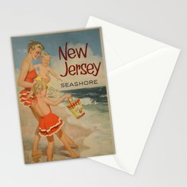 New Jersey Vintage Poster Stationery Cards