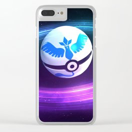 POKEBALL Clear iPhone Case