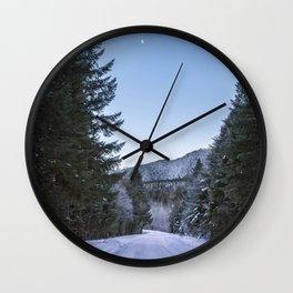 Side Road Wall Clock