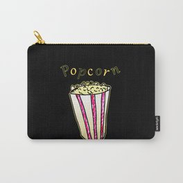 Popcorn: Black Carry-All Pouch