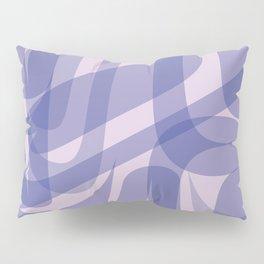 Abstract Formline Purple Pillow Sham
