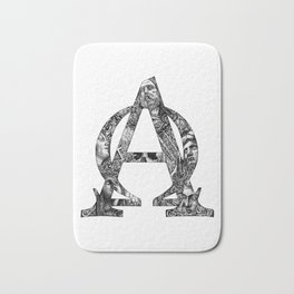 Alpha/Omega Bath Mat