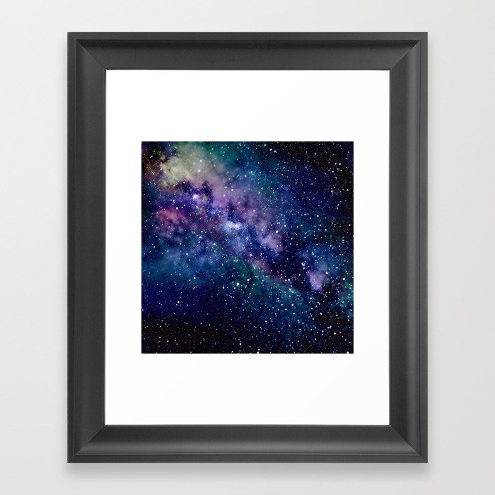 Milky Way Gerahmter Kunstdruck
