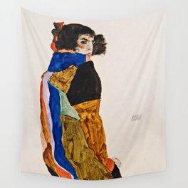 Egon Schiele - Moa Wall Tapestry