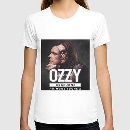 no more tour 2 ozzy 1osbourne T-shirt