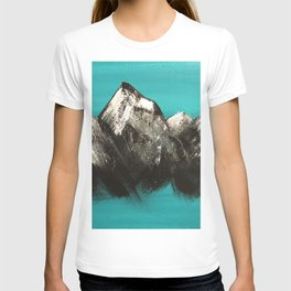 Turquoise Mountains by Noelle's Art Loft T-shirt