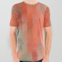 Coral Mirage All Over Graphic Tee