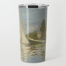 Regattas at Argenteuil Travel Mug