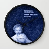 little prince Wall Clocks featuring Little Prince by VINSPIRO