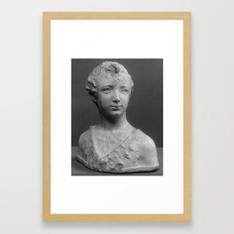Italian Young man Framed Art Print