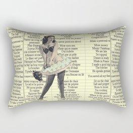 Maid Franglaise  Rectangular Pillow