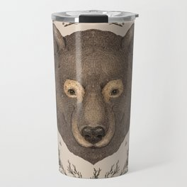 The Bear and Cedar Travel Mug