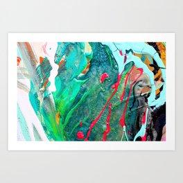 Abstract Close Up 4 Art Print