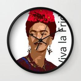 VIVA LA FRIDA Wall Clock