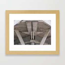 Frontal View Framed Art Print
