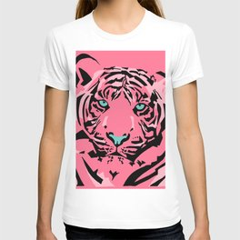 Pink Pop Tiger T-shirt