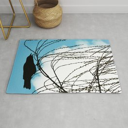 Cawing Crow Rug