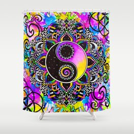 Magical Balance Shower Curtain