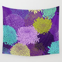 Chrysanthemum blossom Wall Tapestry